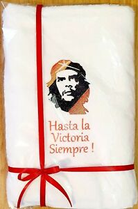 Che Guevara Personalised Embroidered towels  Gift  Birthday present