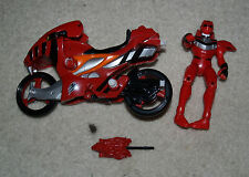 Power Rangers Jungle Fury Red Tiger Strike Rider - complete