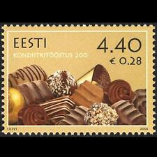 Estonia 2006 MNH, Confectionery Industry, Hand Made Chocolates, marzipan, D@