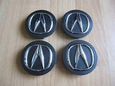 "Set of 4 Dark Grey Oem Acura Rsx Rl Tl Mdx Rdx Tsx Ilx Tlx center caps 2 3/4"" (Fits: Acura Tsx)"