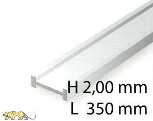 Evergreen 272 I-Profil - 2,00 x 350 mm (4 Stück)