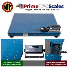 Dwp 10000f 44 Floor Scaleheavy Duty Platform 48x4810000lbx2lbindicator