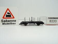 Fleischmann N 8220 Drehschemelwagen OVP N701 Profikupplung