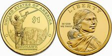 2015 D Native American Indian Dollar U.S.  Mint Coin Sacagawea Coin Iron workers