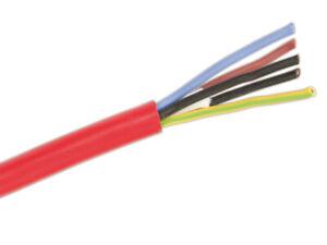 Silikonkabel SIHF-J 3x1,5 qmm (Preis pro 1 m,Lierferung erfolgt in einer Länge)