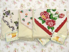 Moda Vintage Reproduction Floral Hankies Hankerchief Gift Set