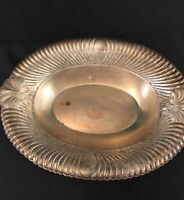Wm Rogers Oval Silver Plate Dish 3948 Engraved HIM Neptune Queen City Festival