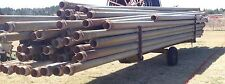 "6"" twist lock aluminum irrigation pipe 1800'"