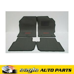 HOLDEN MJ BARINA SPARK HATCH CARPET FLOOR MAT PACKAGE PUTER GENUINE # 95166313