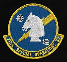 US AIR FORCE USAF 711th SPECIAL OPERATIONS SQUADRON SOS MILITARY PATCH