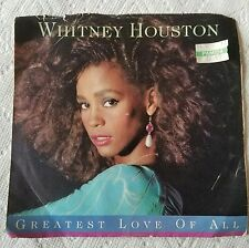 WHITNEY HOUSTON●GREATEST LOVE OF ALL/THINKING ABOUT YOU●ARISTA RECORDS●c1985●45●
