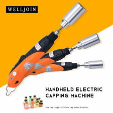 Hand-held capping machine cap lock machine