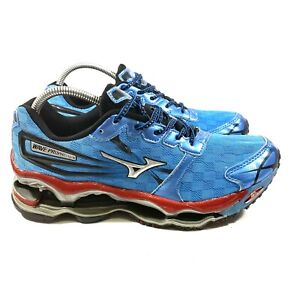 Mizuno Wave Prophecy 2 Blue Running Shoes Men's Size 9 - Nice!