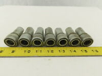 "Foster H2-2 Hydraulic Female Quick Coupler Body Steel 1/4"" NPT Lot of 4"