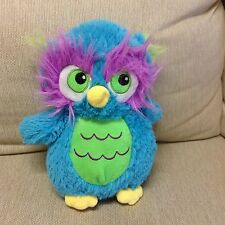 Alastair Fiesta Whimsical Colorful Owl Plush Soft Toy Stuffed Animal Pillow 15""
