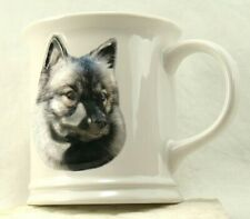 3D Relief Face Keeshond Dog Face Coffee Mug by Xpres Best Friend Originals