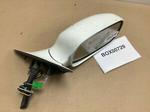 1998 2004 CADILLAC SEVILE FRONT RIGHT PASSENGER SIDE VIEW MIRROR WHITE OEM+