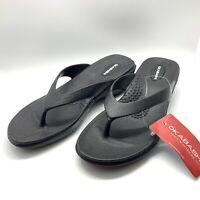 Okabashi Splash Wedge Sandals NWT Rubber Arch Support. Size Medium (6.5 - 7.5)