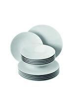 ROSENTHAL TAC weiß Tafelset 12 teilig 6 Speiseteller + 6 Suppenteller  18339
