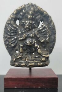 Antique Nepalese Bronze Tsatsa Buddha