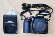 Nikon D5300 24.2MP Digital SLR Camera - Black (Body Only) 5K Shutter Actuation