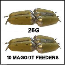 Maggot Feeders 10 Feeder Bomb 25g maggot Feeders