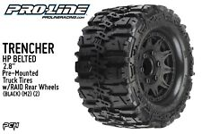 "PRO-LINE TRENCHER HP Belted 2.8"" PreMounted Truck Tires (M2) (2) (BLACK) 1016810"