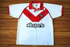 Vintage St Helens Saints Home Rugby Jersey 2005-2006 Men'S Medium Shirt White