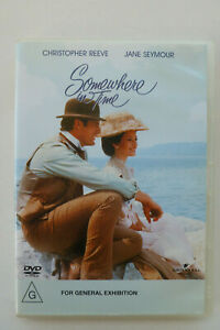 Somewhere In Time (1980) - R4 DVD - Christopher Reeve Jane Seymour - Free Post
