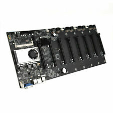 More details for btc-t37 mining motherboard 8 gpu crypto ddr3 vga fit bitcoin - 55mm spacings uk