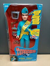 Brand New Thunderbirds Virgil Tracy Talking Action Figure With Accessories