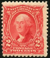 UNITED STATES  SCOTT#301 2c WASHINGTON  SINGLE  MINT NH--SCOTT VALUE $37.50