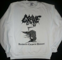 GRAVE SWEAT SHIRT Swedish death metal T Entombed MORBID ANGEL Dismember S - XL
