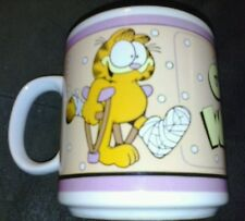 Garfield get well soon coffee cup mug vintage 1978 only one on ebay!!!