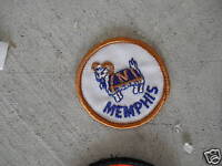 VINTAGE Embroidered Patch College Memphis LOOK