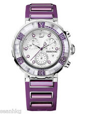 Swarovski Ladies' Watch Octea Chrono Fuchsia Fashionable Swiss Quartz - 1124157