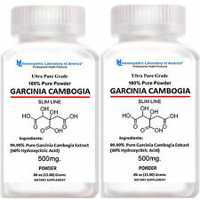 2 GARCINIA CAMBOGIA EXTRACT PURE Powder 60% HCA  Advanced Weight Loss