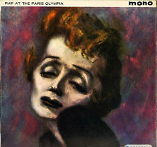 "EDITH PIAF ""AT THE PARIS OLYMPIA"" 60'S LP COLUMBIA SX 1330"