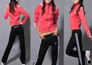 Adidas Black/White Striped Tracksuit Pants LAST ONE!