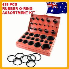 419 pcs Rubber O Ring Kit Metric Industrial Oring Assortment Auto Grommet Set AU