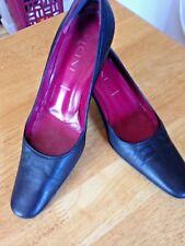 Vicini Black - High Heels Italy U.S.Size 6.5 - 36.5-EUC