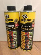 Bardahl Décrassant Moteur Diesel 5en1 EGR Turbo FAP 500ml