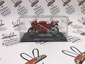 "Die Cast "" Ducati 851 Superbike 1990 "" Passion Ducati 1/24"