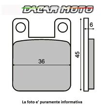 225100080 RMS Coppia pastiglie freno  POSTERIORE  BETA	TECHNO 250	250		1996	>
