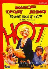 Some Like It Hot (1959) - Marilyn Monroe, Tony Curtis, Jack Lemmon - DVD NEW
