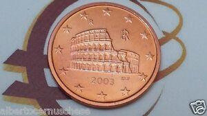 5 cent euro 2003 fdc ITALIA Colosseo Roma colosseum Rome italie italy italien