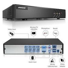 Refurbished ANNKE 8CH 1080P Lite TVI/AHD/960H Security DVR Motion H.264+ Remote
