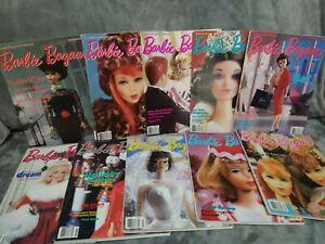barbie bazaar magazine lot mixed years 10 mags