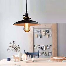 Black Ceiling Lamp Kitchen LED Lighting Bar Vintage Pendant Light Office Lights