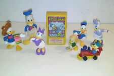 Donald duck figure toy character lot disney showboat mickey mouse